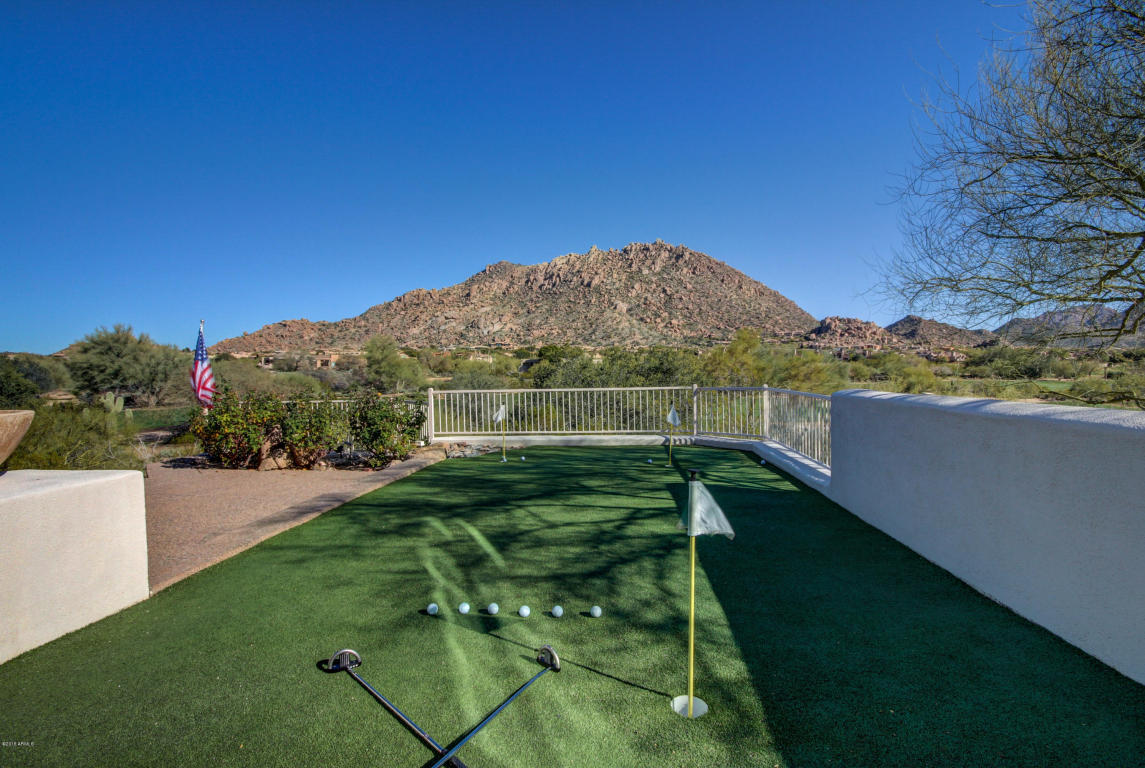 Troon Golf Course Custom Home With Resort Style Back Yard