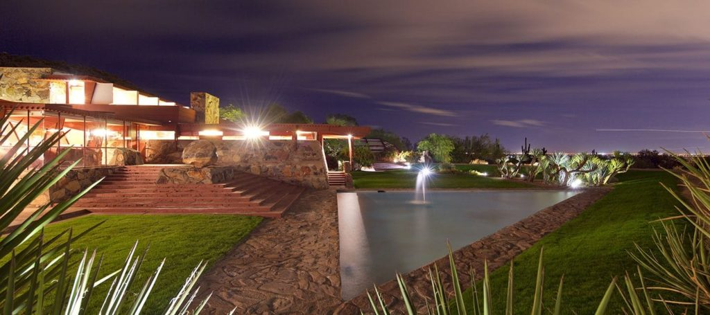 Scottsdale Frank Lloyd Wright home