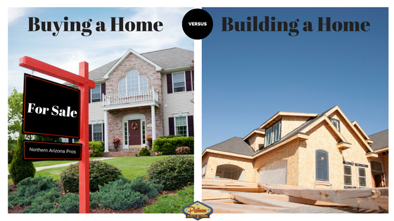 Cost of buying a home versus building a home north for Cost to build a house in arizona