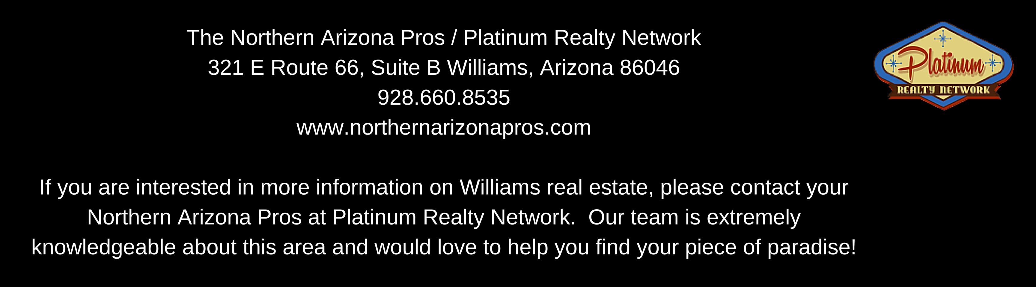 Williams Arizona Real Estate Agents