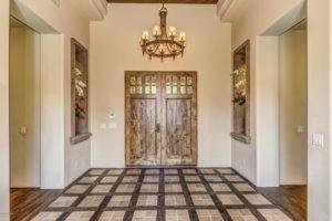 DC Ranch home entryway